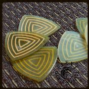 Flexi Tones Grip - Gypsy Style - 4 Picks | Timber Tones